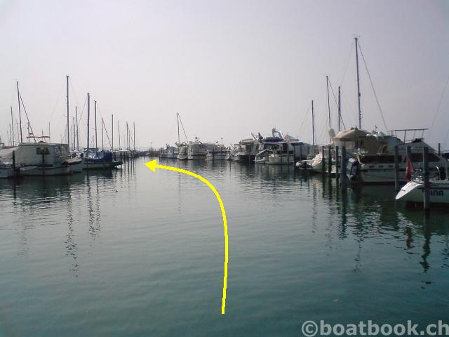 Der Hafen Portalban