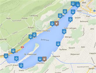 Hafenkarte Lake Biel2