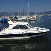 Motorboot-Fahrschule Portalban Susi Stierlin